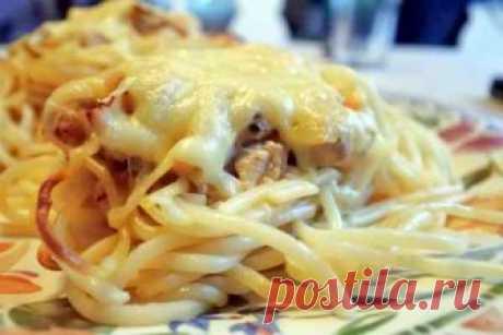Гнезда  Удобный способ приготовления и подачи, в случае если спагетти нужно готовить заранее.Поставьте кастрюлю с водой для спагетти на огонь. Посолите воду. Воду солить для варки любых макарон надо солить и…