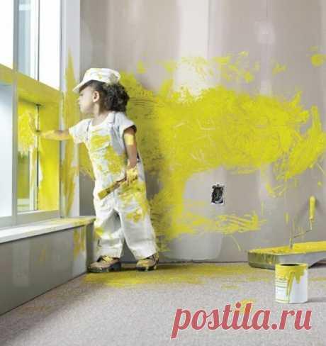 Как правильно выбирать краски для внутренних работ?   Кузьма   Яндекс Дзен