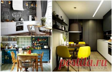 17 actual ideas of design of kitchen which will delight any hostess