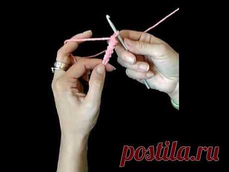 урок по вязанию румынского шнура