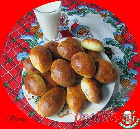 Пирожки из дрожжевого теста с крахмалом Кулинарный рецепт
