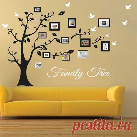 cream-wallpaper-wall-tree-art-simple-amazing-pinterest-design-metal-yellow-family-sofa-picture-hanging.jpg (736×736)