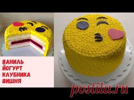 Рецепт торта Ягодное наслаждение 💞Готовьте с любовью💞