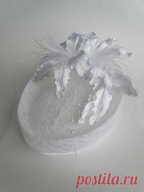 =Свадебная шляпка (МК от kupavka)=
