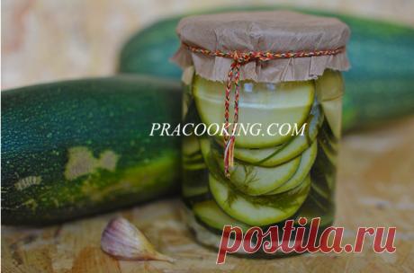 Маринованные кабачки по-болгарски на зиму | Кулинарные рецепты с фото