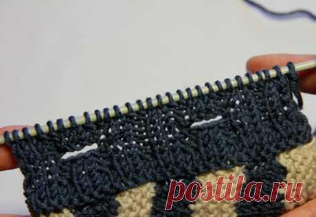 Вертикальные и горизонтальные петли для пуговиц (Вязание спицами) – Журнал Вдохновение Рукодельницы