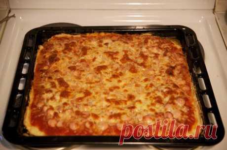 Bezdrozhzhevoe testo para la pizza