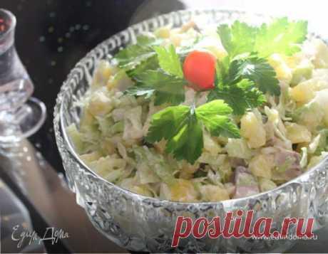 "салат ""Под водочку"", рецепт с ингредиентами: семечки, майонез, горчица"