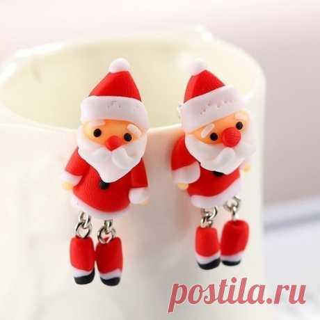 Дед Мороз из полимерной глины | 22 фото | Santa polymer clay