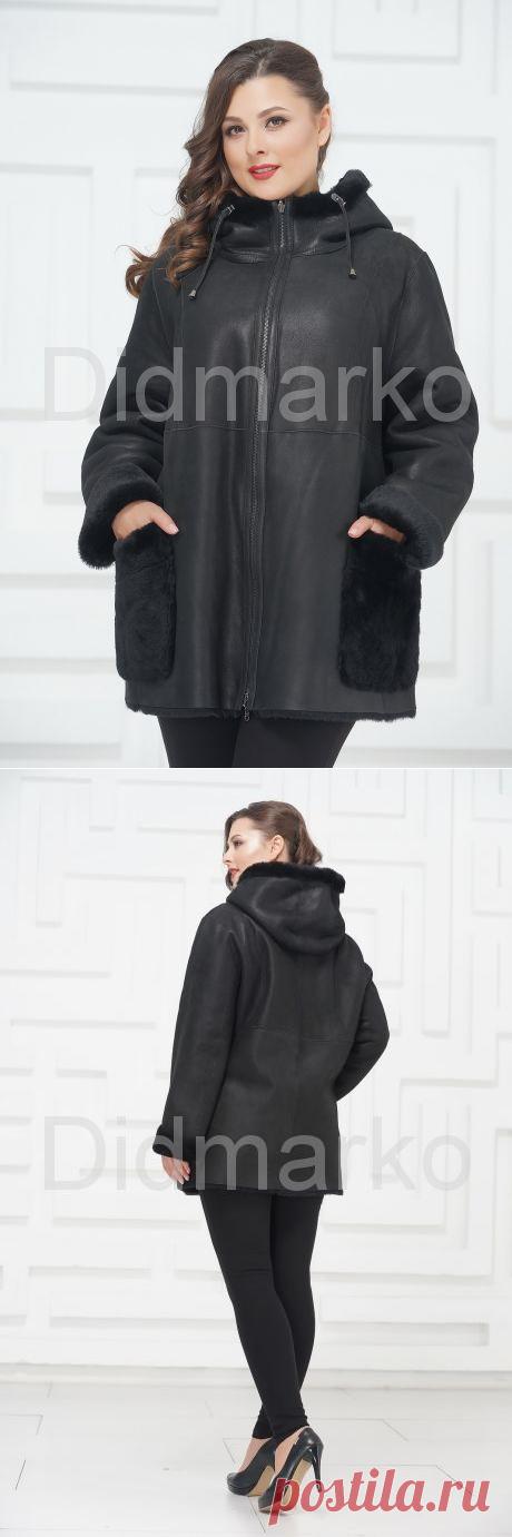 Укороченная куртка из овчины купить по цене 45000.00, артикул DMK1099