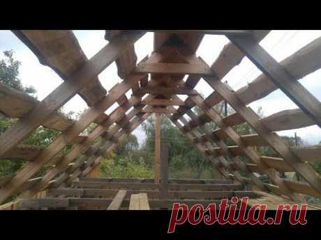 Стропильная система двухскатной крыши: устройство, установка и крепление