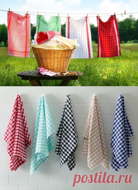 Избавляемся от жира и стойких пятен на полотенцах — Полезные советы