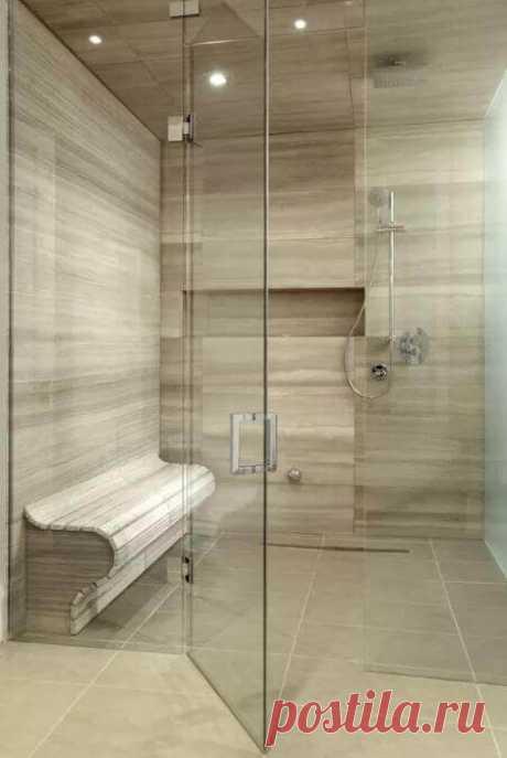 Современный дизайн ванных комнат на pinterest