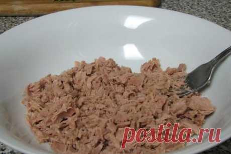 Салат с тунцом Хозяйка.ru