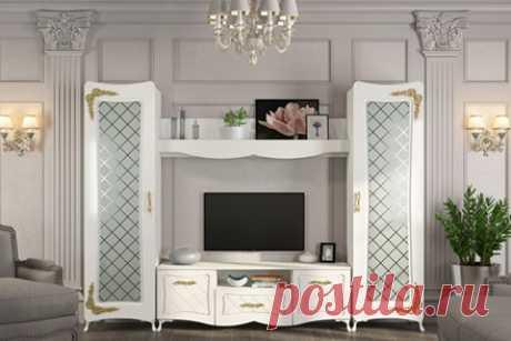 Гостиный гарнитур Аделина, белый по выгодной цене 31293 р заказать в Югорске - Дом Диванов