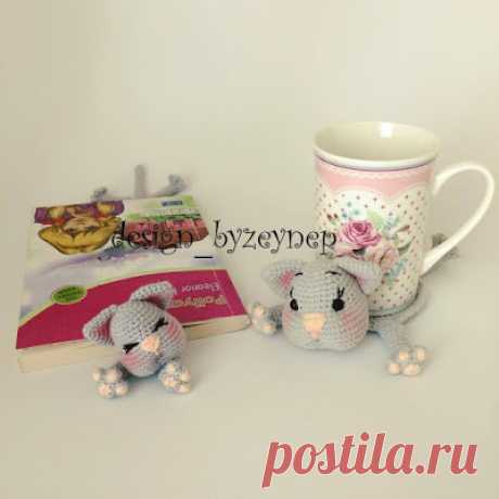 Leithygurumi: Amigurumi English Cat Mug Rug and Cat Bookmark Pattern by Desing_byZeynep