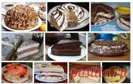 10 вкуснейших домашних тортиков — Кулинарная книга - рецепты с фото