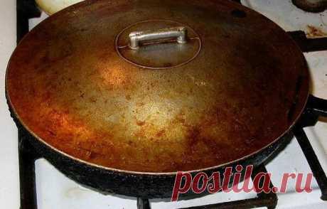 Простой и легкий способ очищения посуды от застарелого жира.   Дачные советы   Яндекс Дзен