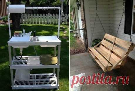 Полезные поделки для дачи и сада, которые сможет сделать каждый