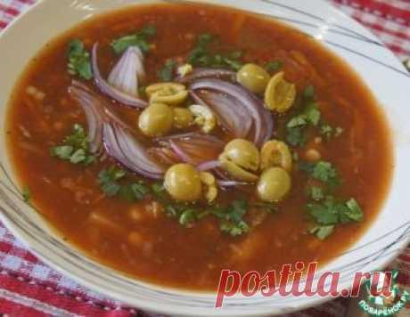 Греческий постный томатный суп – кулинарный рецепт