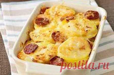 Рецепт овощной запеканки с сардельками - Запеканка овощная, с грибами . 1001 ЕДА вкусные рецепты с фото!