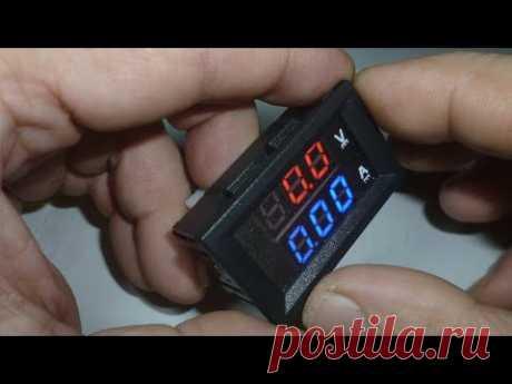 Подключение ампервольтметра 100в. Подробно доступным языком Вольтамперметр как подключить DSN-VC288 - YouTube