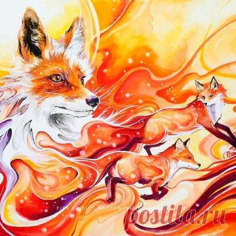 """Fire Spirit"".  Дух огня."
