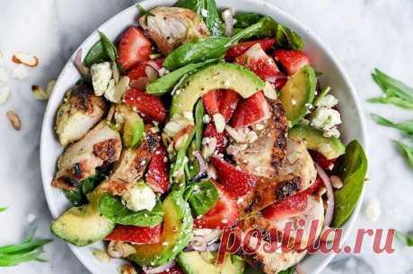 9 диетических салатов вместо ужина. Ешь даже после 10 вечера — всё равно похудеешь. Вкусно, потому и привыкнуть легко. - Журнал Советов