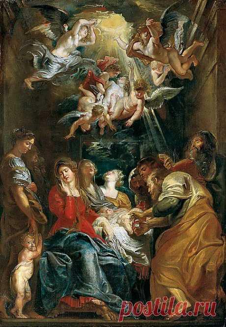 Обрезание Господне. Питер Пауль Рубенс. Описание картины, скачать репродукцию.