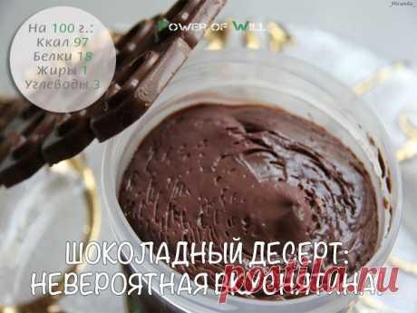 Сладкое счастье: 5 диетических шоколадных десертов
