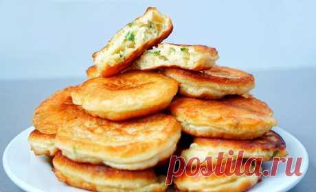 Луковые оладушки | Рецепты на SuperKuhen.ru