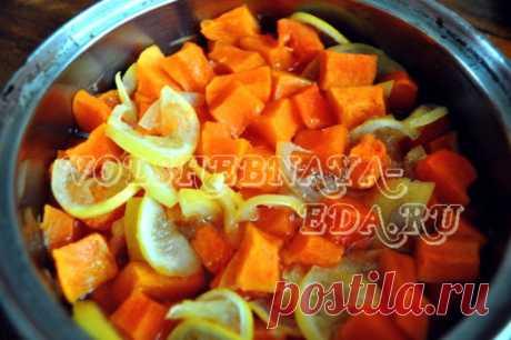 Las frutas confitadas de la calabaza de la foto. La receta de las frutas confitadas de calabazas por las manos | Mágico Eда.ру