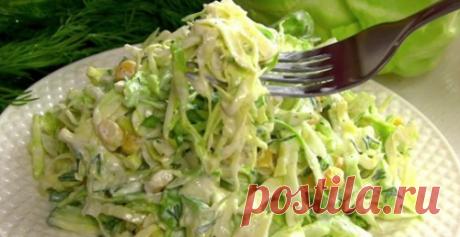 Два очень вкусных и оригинальных салата из банальной капусты!