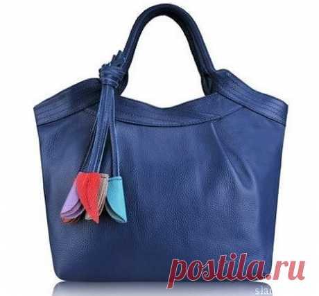 Идея кожаной сумочки