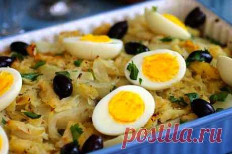 Рыбная запеканка из хека с картофелем и яйцом | | Кулинарные рецепты