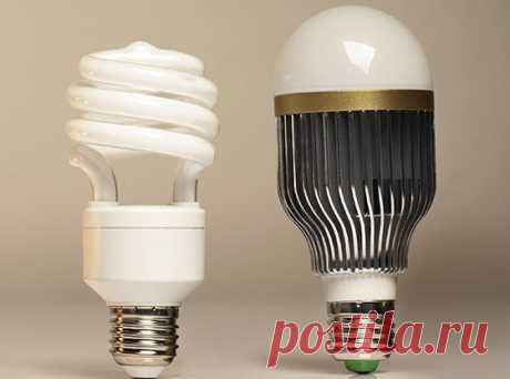 Отличие светодиодных ламп от энергосберегающих компактных люминесцентных » Сайт для электриков - статьи, советы, примеры, схемы