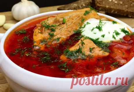 Варим самый красный борщ: добавляем острый томатный соус - Steak Lovers - медиаплатформа МирТесен В приготовлении банального на первый взгляд красного борща есть несколько важных нюансов, которые и делают блюдо таким вкусным. Шеф-повар поделился пошаговым рецептом самого красного борща из двух видов мяса, аппетитный аромат придает супу немного острый томатный соус. Нам понадобится 600 граммов