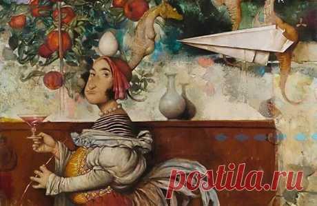 Чем покоряют сюрреалистические картины «восточного Босха» из Армении Тарона Мурадяна