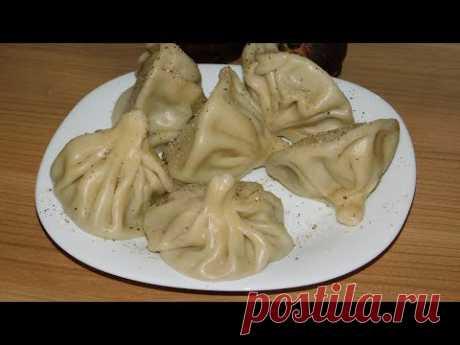 Hinkali. No es más detalladamente)))) (la cocina Georgiana)
