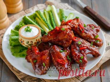 Крылышки барбекю — рецепт с фото