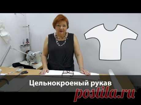 Выкройка цельнокроеного рукава. Как раскроить блузку с рукавом летучая мышь своими руками?