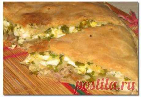 Пирог с курицей, яйцом и сыром | Рецепты блюд
