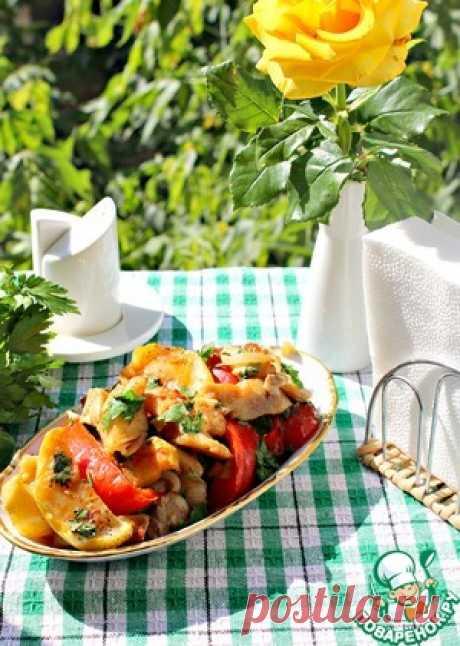 Вкуснейшая тилапия под диетической шубой - кулинарный рецепт
