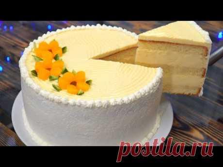 Торт РАЙСКОЕ ОБЛАЧКО | Воздушный Нежный торт! | Кулинарим с Таней