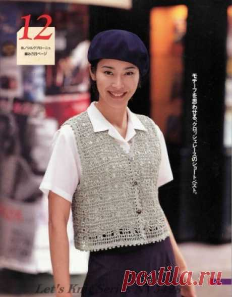 Для тех, кто вяжет крючком. | Женская одежда крючком. Схемы и описание