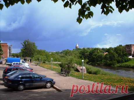 Парковки на берегу Днепра    ----    Parken in Smolensk  Kostenloses Stock Bild HD - Public Domain Pictures
