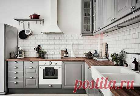 Кухня в скандинавском стиле — красота и аутентичность