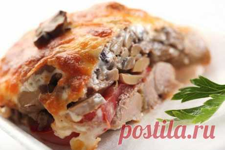 (+1) - Мясо по-купечески с грибами | ВКУСНО ПОЕДИМ!