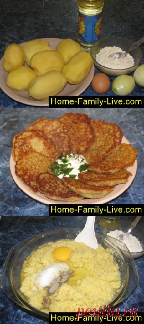 Драники/Сайт с пошаговыми рецептами с фото для тех кто любит готовить