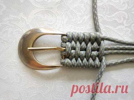 Tutorial For Weaving A Belt • Recyclart